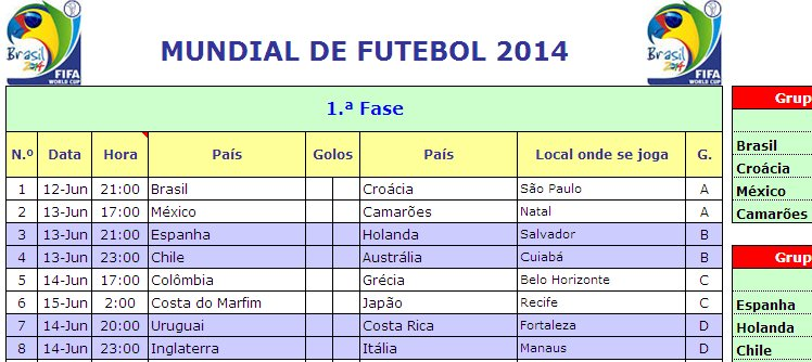 Calendariomundialfutebol2014