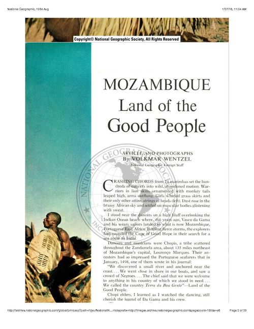 NationalGeographic1964AugMozambique