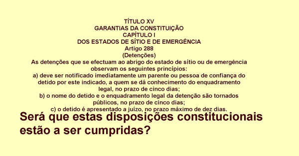 Disposicoesconstitucionais